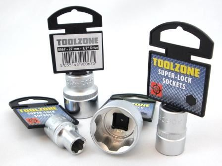 "Toolzone 1/2""Dr 10Mm Socket Crv"