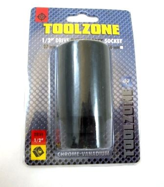 "Toolzone 32Mm 1/2"" Deep Impact Socket Crmo"