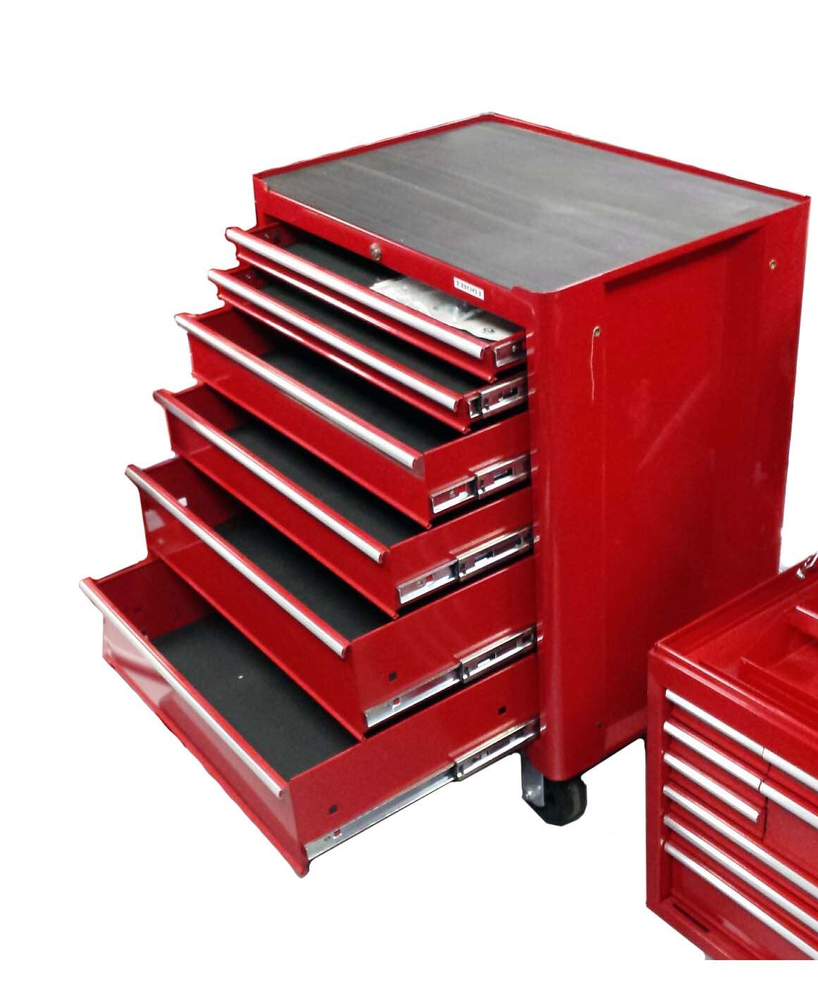 Toolzone 6 Drawer Hd Roller Bearing Tool Cabinet
