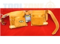 Toolzone Two Tone Hd Leather Double Pouch
