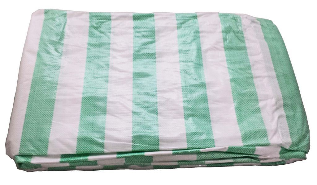 Toolzone 3.6M X 5.4M  Hd Striped Tarpaulin