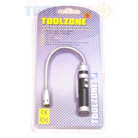 electrical toolzone mini led flexi flashlight toolzone tools. Black Bedroom Furniture Sets. Home Design Ideas