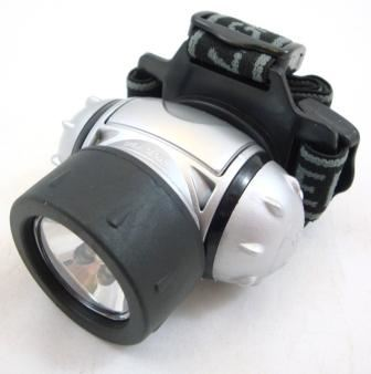 Toolzone 6 Led/Krypton Headlamp