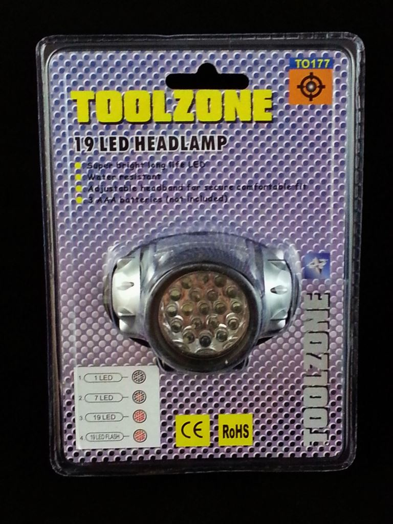 Toolzone 19 Led Headlamp