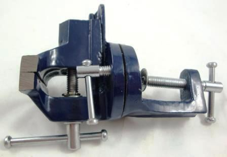 Toolzone 60Mm Clampon Sg Vise Swivel Base