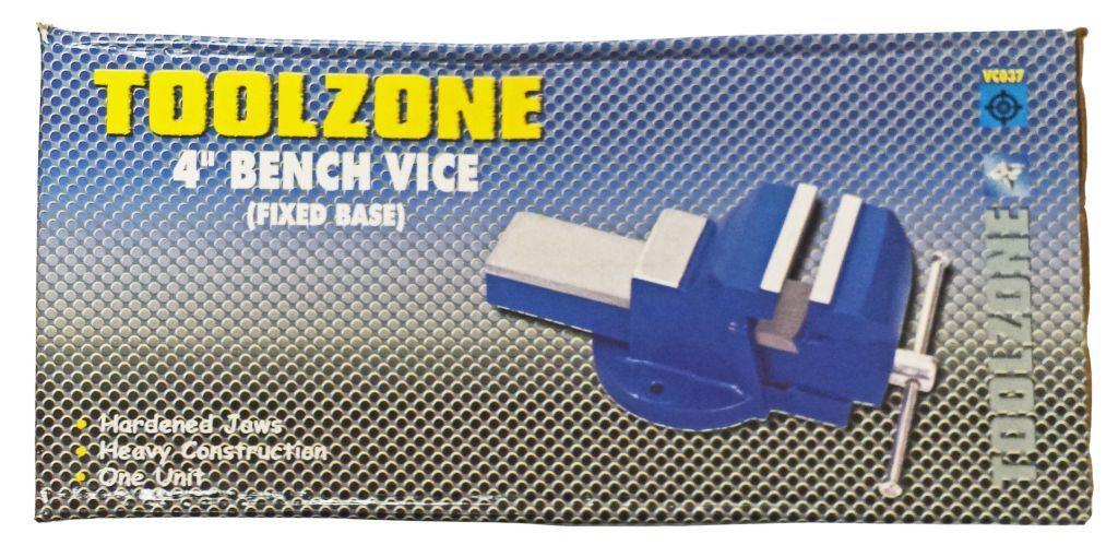 KDPVC037 - 4IN INDIAN FIXED BASE VICE
