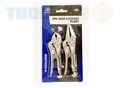 Toolzone 2Pc Mini Locking Pliers
