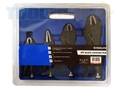 Toolzone 4Pc Black Lock Pliers