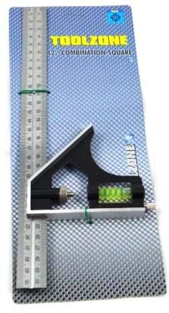"Toolzone Std 12"" Combination Square"