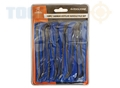 Toolzone 10Pc 140Mm  Riffler Needle Files