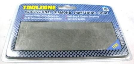 Toolzone Fine Pro Diamond Coated Whetstone