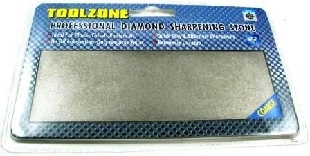 Toolzone Coarse Pro Diamond Coated Whetstone