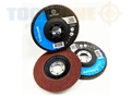 "Toolzone 4 1/2"" 120 G Flap Disc Angled Type29"
