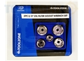 "Toolzone 5Pc 3/8"" Oil Filter Socket Wrench Set"
