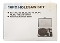 Toolzone 16Pc Hole Saw Set In Bmc - Plain Pack