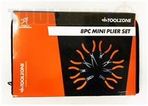 Toolzone 8Pc Assorted Mini Plier Set